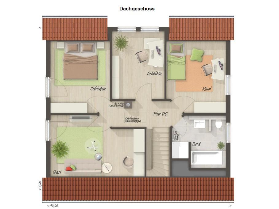 Dachgeschoss Flair 134